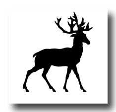 Karen's Whimsy Animal Silhouettes :: Deer Silhouette, bear, giraffe, etc.