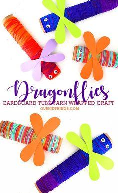 Paper Bag Ladybug Craft | Our Kid Things