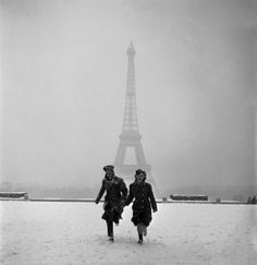 Available for sale from °CLAIRbyKahn Galerie, Lee Miller, The veiled Eiffel tower from the Palais de Chaillot, Paris Modern silver gelatin print, Lee Miller, Tour Eiffel, Torre Eiffel Paris, Paris Vintage, Old Paris, Man Ray, James Nachtwey, Liberation Of Paris, Fotografia Social