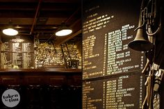 The Baxter Inn - Sydney Whiskey Bar It is the type of board were you clip in letters