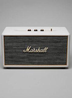 Stanmore Black SPeaker from Marshall For more http://www.polkadotbride.com/2014/12/polka-dot-christmas-gift-guide-couple-2/