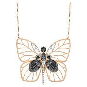 Bloom Large Butterfly Long Pendant
