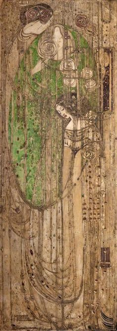 """Oh ye, all ye that walk in Willowood""  Margaret Macdonald Mackintosh"