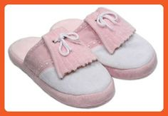 Women's Pink Golf Styled Bedroom Slippers Small NEW - Slippers for women (*Amazon Partner-Link)