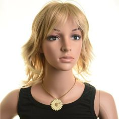 SureWells Curly Charming Short Golden Wigs Costume Wig Life Wigs by SureWells. $17.99. Hair Style: Life Wigs,Cosplay Wigs.Good for party.. Color : AS PICTURE ,Color Shown: (Color may vary by monitor.). Package:1 PCS. Material : High temperature wire. Length :Short. Brand: SureWells Recommended features: 1. Super natural wig , suitable for almost every lady aged from teenagers to adults. 2. With the high technology, Miss Beauty wig series are quite soft and smooth with...