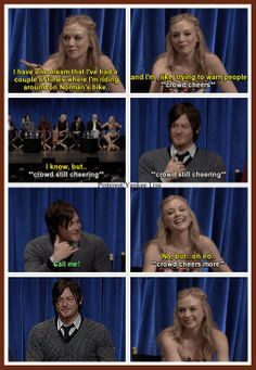 #Shipping Dareth The Walking Dead - TWD ANOTHER ACTUAL QUOTE
