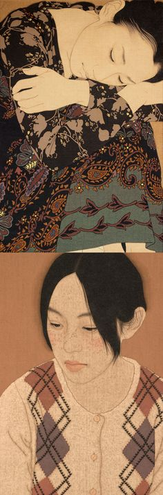 Ikenaga Yasunari - Japanese Illustration - Nihonga Style More