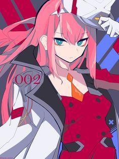 Heaven Wallpaper: Darling In The Franxx Weekly Anime Expo, Manga Anime, Zero Wallpaper, Heaven Wallpaper, Darling Quotes, Chlorophytum, Waifu Material, Zero Two, Best Waifu