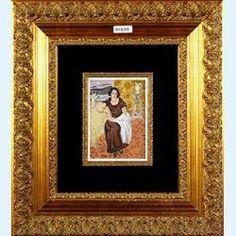Lot 832-Henri Matisse Original hand executed pochoir over lithography Femme En Robe Brune Accoudee 1924