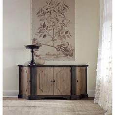 Hooker Furniture 5380-75900 Corsica Credenza in Light Wood