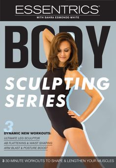 Brand-new #Essentrics Body Sculpting DVD to get you beach-body ready for summer!!  Shop here: http://www.essentrics.com/page/productdetails/all/Body_Sculpting_Series_DVD.htm