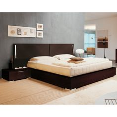 Enter Bed with Nightstands