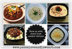 SPLENDID LOW-CARBING          BY JENNIFER ELOFF: Slow Cooker Recipes