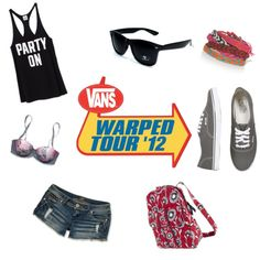 Outfit for Vans Warped Tour 2014 i think yess!