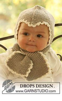Gratis strikkeopskrift til baby