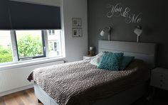 Plisse gordijnen slaapkamer