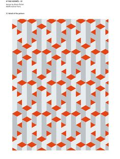 Textile design for Hermes by Alexis Rollet at A & M Creative Paris