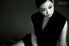 Kim Seul Gi Grazia Korea Magazine August 2013