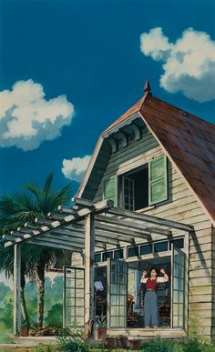Studio ghibli,my neighbor totoro,hayao miyazaki Studio Ghibli Art, Studio Ghibli Movies, Animes Wallpapers, Cute Wallpapers, Her Wallpaper, Japanese Animated Movies, Japanese Film, Japon Illustration, Girls Anime