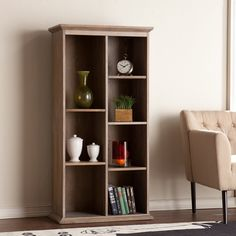 Southern Enterprises Midvale Decorative Bookcase | from hayneedle.com