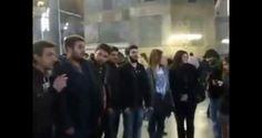 Συγκλονιστικό: Ελληνόπουλα ΑΠΑΓΓΕΛΟΥΝ τον ΕΘΝΙΚΟ ΥΜΝΟ μέσα στην ΑΓΙΑ ΣΟΦΙΑ! (Video)