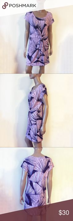 Anthropologie Maeve Casieu Side Tie Dress Smocked empire waist dress. Pull over styling. Small in size. No issues and excellent condition Anthropologie Dresses