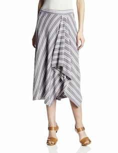 Mod-O-Doc Women's Slub Jersey Stripe Asymmetrical Hi-Low Skirt, Storm, Medium Mod-O-Doc,http://www.amazon.com/dp/B00GV30578/ref=cm_sw_r_pi_dp_uHPytb1FVJFZ37AP