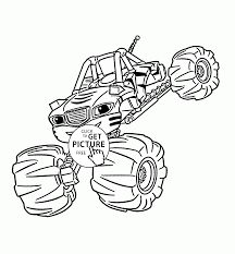 Blaze And The Monster Machines Coloring Pages Google