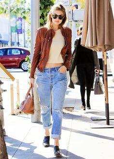 72ed9a4432fc gigi hadid model modelka štýl style fashion móda outfit ootd blond dámska  móda womenswear street style