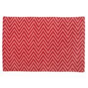 Chevron rug from Land of Nod -- also avail in grey/white. Cotton. For J's room?