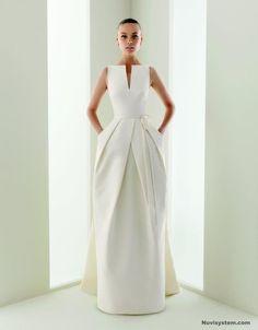 Inspiring Audrey Hepburn Wedding Dress: white Audrey Hepburn Wedding Dress inspiration