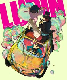 Lupin III - The Castle of Cagliostro by Ninton
