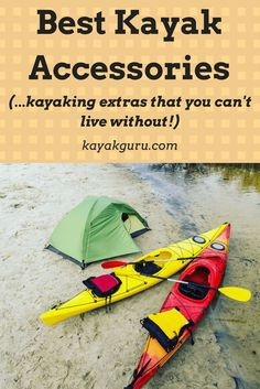 You have a kayak, but are is there any other gear or equipment that you need to consider? We look at anchors, life jackets, solar panels and racks (and a lot more), in our guide to the 11 best kayak accessories... #kayakaccessories #drypack #solarcharger #Stohlquist  #kayakrack #kayakanchor #garminfenix #rodholder