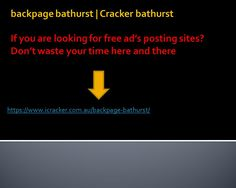 What is better than backpage