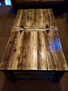 Beautiful handmade reclaimed rough sawn by PlayHouseDesignsInc