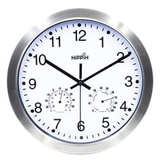 Hippih 12 Inch Silent Non-ticking Wall Clock- Metal Frame... https://www.amazon.com/dp/B01AZ8T95S/ref=cm_sw_r_pi_dp_x_JY6Gyb3KQR5CQ