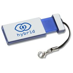 usb | Slim Retractable USB Drive - 2GB (Item No. 106302-2G) from only $9.49 ready to be imprinted by 4imprint Promotional Products