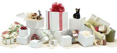 Wholesale Gift Boxes | One Piece Gift Box | White Gloss