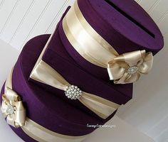 Wedding Card Box Money Box Gift Card Box Holder Custom Made to Order Purple Wedding, Fall Wedding, Diy Wedding, Wedding Ideas, Wedding Decor, Dream Wedding, Wedding Inspiration, Wedding Receptions, Handmade Wedding