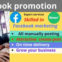 welcome my Gig Do you want to make your business or product viral? Do you want to increase sales? Truly you have reached the right place. I am a Facebook marketing expert.I will viral your business or product link in the USA, UK via Facebook groups Post.  My Facebook group category: USA, UK( buy and sell group of worldwide) USA, UK(beauty group of worldwide) Promotion group Affiliate Group Facebook Marketing, Online Marketing, Digital Marketing, Seo Professional, Advertise Your Business, Increase Sales, Competitor Analysis, Growing Your Business, People Around The World