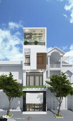 THIẾT KẾ KIẾN TRÚC NHÀ PHỐ - NHÀ PHỐ 4X14M | MDA architects