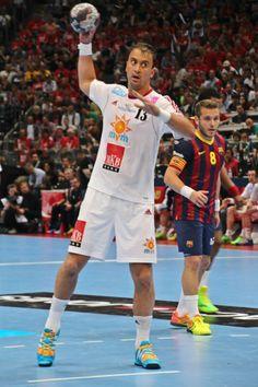 EHF Champions League 2014 Momir Ilic, Victor Tomas