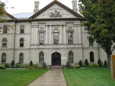 Brant County Courthouse, 1852, Brantford, Ontario