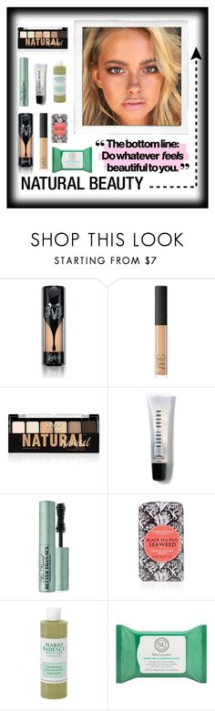 """""""Natural Beauty"""" by dadrumma on Polyvore featuring beauty, Polaroid, Kat Von D, NARS Cosmetics, NYX, Bobbi Brown Cosmetics, Too Faced Cosmetics, Mario Badescu Skin Care and Skin Laundry"""