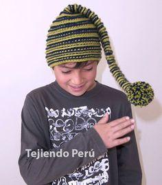 Cómo tejer un gorro de elfo o duende a crochet (crochet elf hat), This video includes English subtitles ☺️