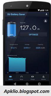 Apklio.blogspot.com: DU Battery Saver Pro 3.9.9.9.5 Patched apk
