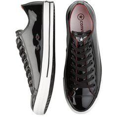 Men's Converse Black Patent Tennis Shoes - Men's Wearhouse