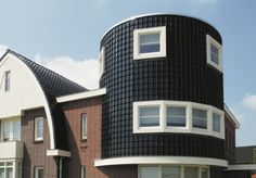 Another gorgeous roof tile wall cladding job from Wienerberger in Europe.