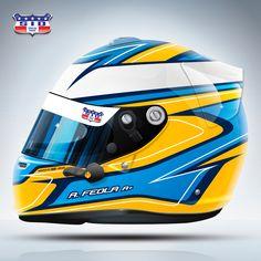 O #tbt de hoje relembra o design criado para o piloto @arthurfeola, que pediu um desenho inspirado nos Renault F1 R25 e R26, bicampeões do…