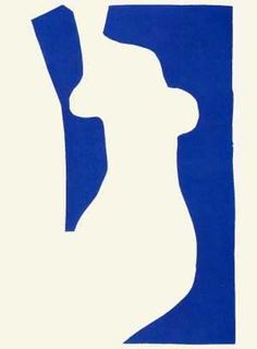 silhoette for insertion etudes-studio:  Henri Matisse - Vénus Gouache découpé (1952)